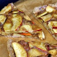 Apfelkuchen ohne Backen - roh vegan & zuckerfrei