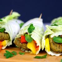 Falafel selber machen - gebacken und ohne Frittieren (vegan & glutenfrei)