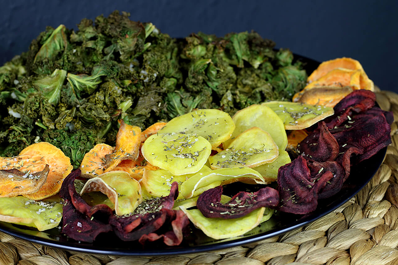 Gemüsechips selber machen - ohne Frittieren!