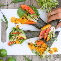 Veganes Sushi selber machen - lecker, fruchtig & gesund!