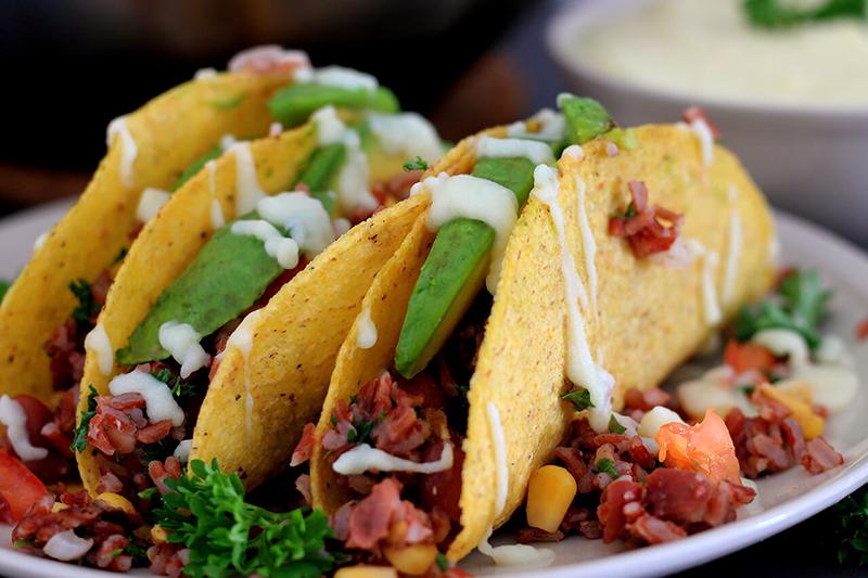 Leckere vegane Tacos - einfach, bunt und gesund!