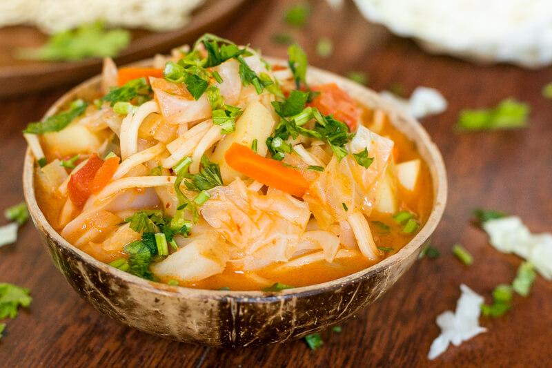 Einfaches Massaman Curry Rezept - vegan & lecker