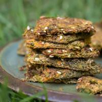 Einfaches Gemüse Cracker Rezept (mit Trester) - lecker & gesund