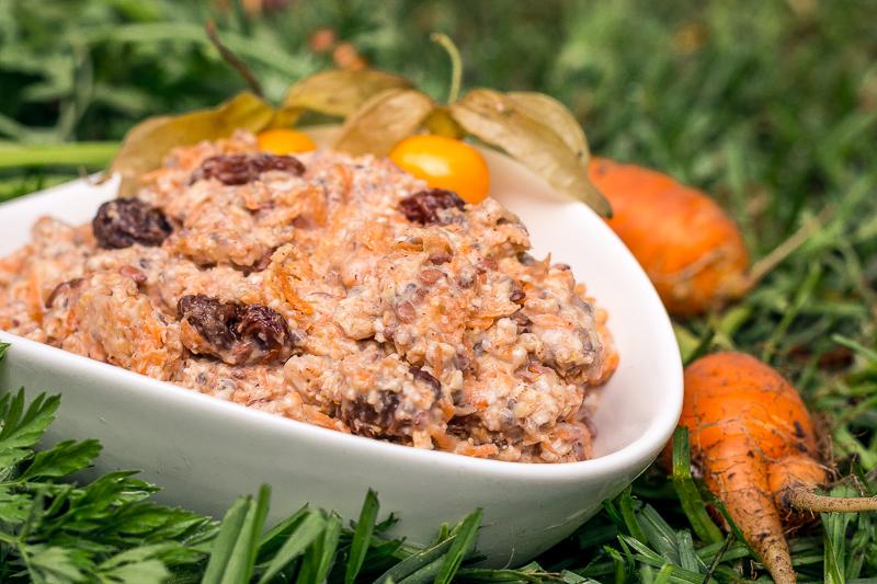 Köstlich-cremige Overnight Oats mit Karotten (vegan)