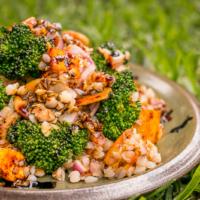 Veganer Buchweizen Salat – einfach, gesund & lecker