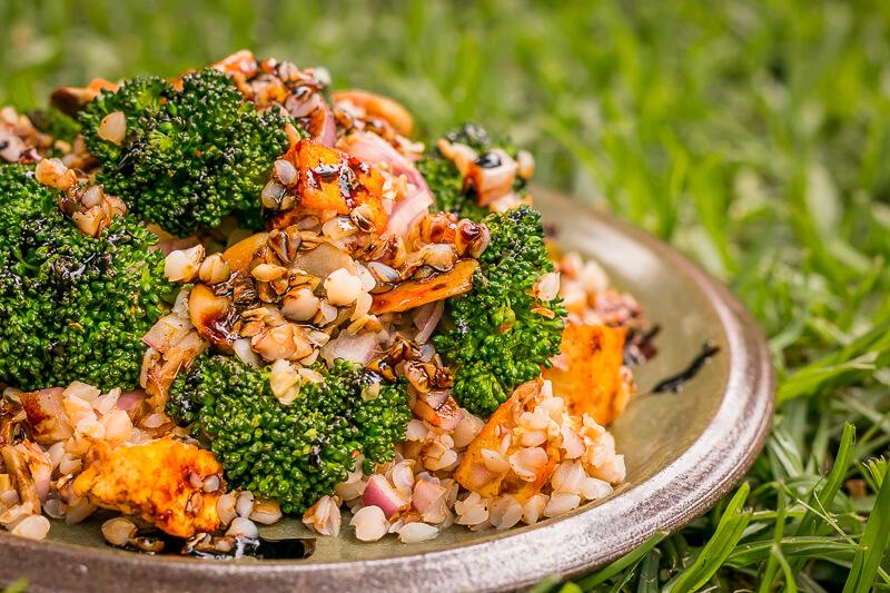 Leckerer veganer Buchweizen Salat – einfach, gesund & glutenfrei
