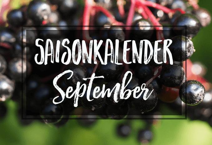 Saisonkalender September  + 10 passende vegane Rezeptideen
