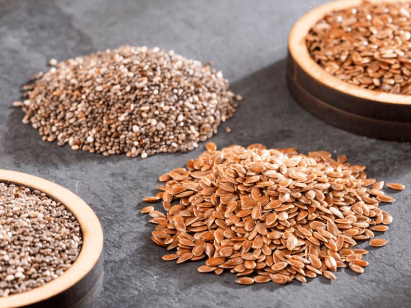 Leinsamen oder Chiasamen – Was ist besser?