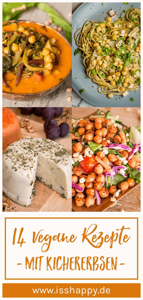 14 vegane Kichererbsen Rezepte – einfach, lecker & gesund