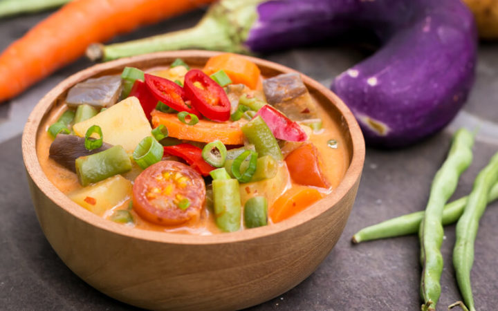 Einfaches Gemüse Curry Rezept – vegan, bunt & gesund