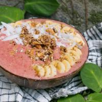 Vegane Erdbeer Bananen Smoothie Bowl – gesund & zuckerfrei