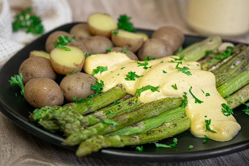 Vegane Sauce Hollandaise – vollwertig, gesund & nahrhaft!