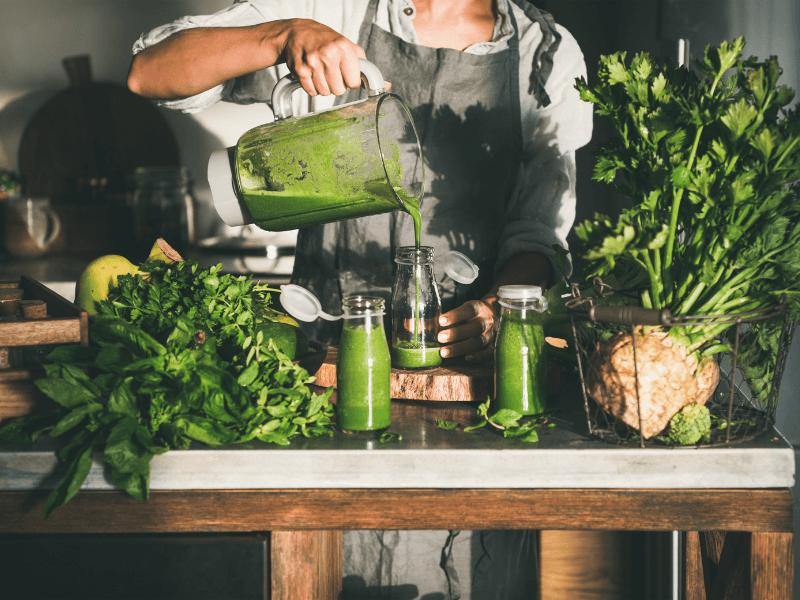 Grüne Smoothies - 7 Vorteile und Tipps zur Zubereitung
