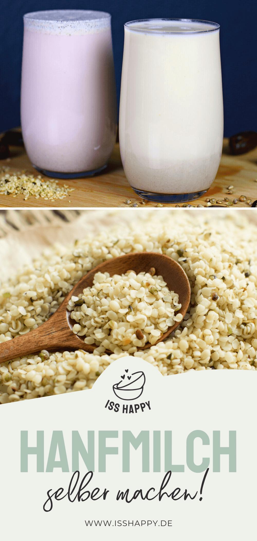 Gesunde Hanfmilch selber machen - schnell & einfach